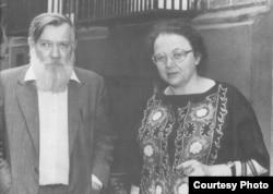 Андрей Синявский и Мария Розанова. 1970-е. Фото Марианны Волковой