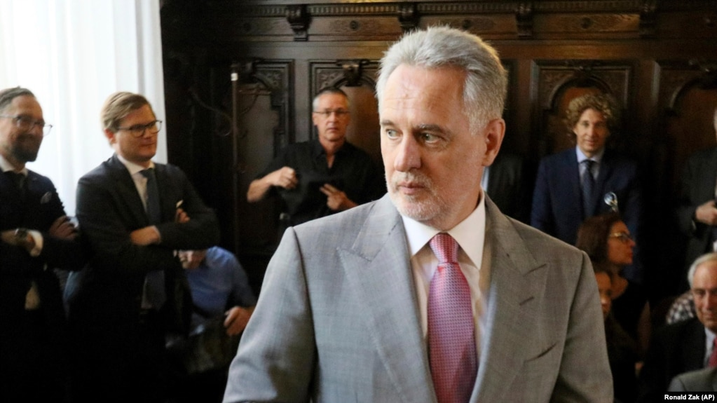 Austrian Justice Minister OKs Firtash's Extradition To U S