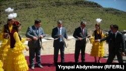 Иринжит каналын ишке киргизүү аземи. Аксы. 20-июнь.