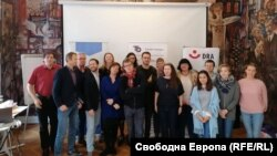 Експертите по време на срещата в София
