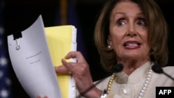 U.S. House minority leader Nancy Pelosi (file photo)