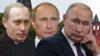 Солҳои гуногуни раҳбарии Путин дар як акс