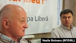 Oazu Nantoi și Victor Chirilă în dialog