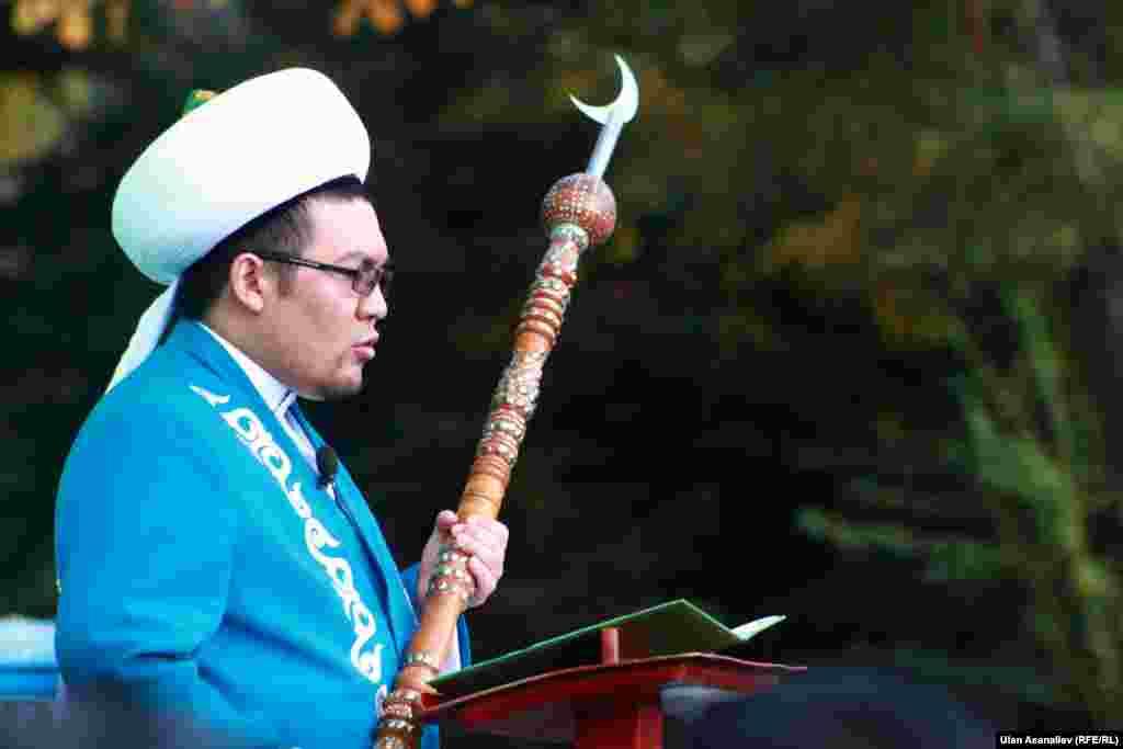 Муфтий Кыргызстана Рахматулла ажы Эгембердиев