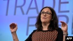 Komisionerja evropiane për Tregti, Cecilia Malmstrom, foto nga arkivi