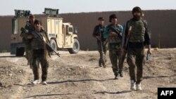 Աֆղանստանի բանակի զինվորներ Հելմանդ նահանգում, 21-ը դեկտեմբերի, 2015թ.
