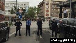 Në Prishtinë sot janë shtuar masat e sigurisë për shkak të ceremonisë së inaugurimit të Hashim Thaçit
