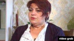 Хадиджа Исмайлова после освобождения из тюрьмы