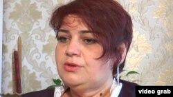 Hadija Ismailova după eliberarea din închisoare