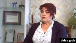 Хадижа Исмаилова абактан чыккандан кийин.