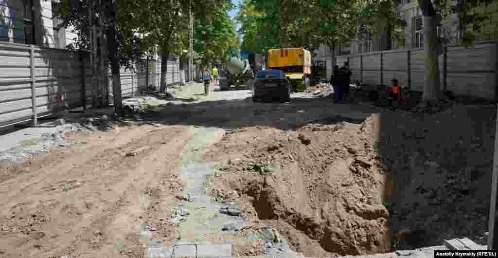 Вулиця Пушкіна з боку вулиці Гоголя