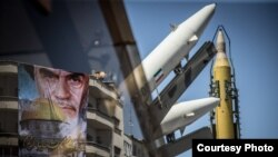 Iran missiles displayed during Quds Day ceremonies in Tehran