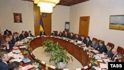 Prima ședință a noului guvern ucrainean
