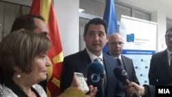 Министерот за животна средина и просторно планирање Насер Нуредини