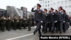 Çeçenistanyň polisiýa işgärleri.