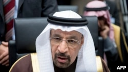 Saudi Arabian energy minister Khalid al-Falih. File photo