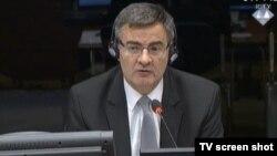 Mile Poparić u sudnici 5. studenog 2015.