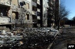 Донецк. 12 февраля