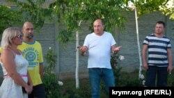Активисты, которые выступают против возобновления работы мусоросортировочной станции