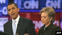 باراک اوباما در انتخابات مقدماتی در ایالت های جورجیا و ایلینوی و سناتور هیلاری کلینتون در ایالت های اوکلا هاما و تنسی به پیروزی دست یافته اند.
