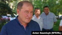 Ilmi Umerov, deputy chairman of the Crimean Tatars' self-governing body, the Mejlis.