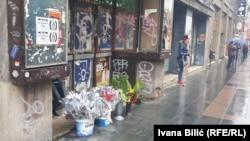 Prodaja cvijeća na sarajevskim ulicama povodom Dana žena