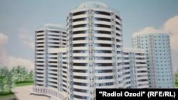 """Один из домов проекта """"Доступное жилье"""""""