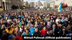 Вече «Остановим капитуляцию», Киев, 6 октября 2019 года