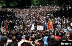 Марш супротивнів сексуальних меншин, Тбілісі, 17 травня 2013 року