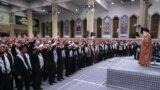 دیدار فرماندهان بسیج با علی خامنهای، ۶ آذر ۹۸
