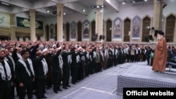 Ayatollah Khamenei met with his base of support, the Basij militia in the aftermath of widespread protests, 27 Nov 2019