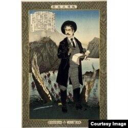 Американец в Японии XIX века