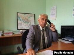 Өскемендегі «Экологиялық қауіпсіздік орталығы» директоры Геннадий Корешков. (Сурет орталықтың ресми сайтынан алынды)