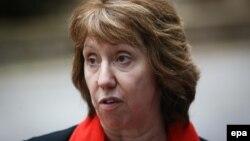 EU High Representative for Foreign Affairs Catherine Ashton (file photo)