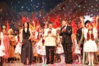 Gala celebration in Bishkek on March 24 (RFE/RL)