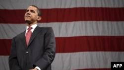 اوباما می گوید: هيچ دليلی برای اينکه ما با ضرورتا با احمدی نژاد ملاقات کنيم وجود ندارد. او قدرتمندترين شخصيت در ايران نيست.(عکس: AFP)