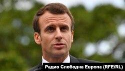 امانویل ماکرون رییس جمهور فرانسه