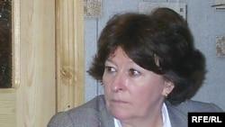 Луиза Арбур в офисе общества «Мемориал» в Назрани