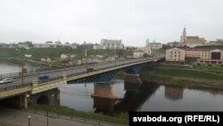Стары гарадзенскі мост цераз Нёман
