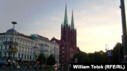 """""""Micul Vatican"""" din Berlin, denumirea bisericii catolice din Berlin, Kreuzberg (Foto: William Totok)"""