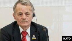 Национальный лидер крымскотатарского народа Мустафа Джемилев