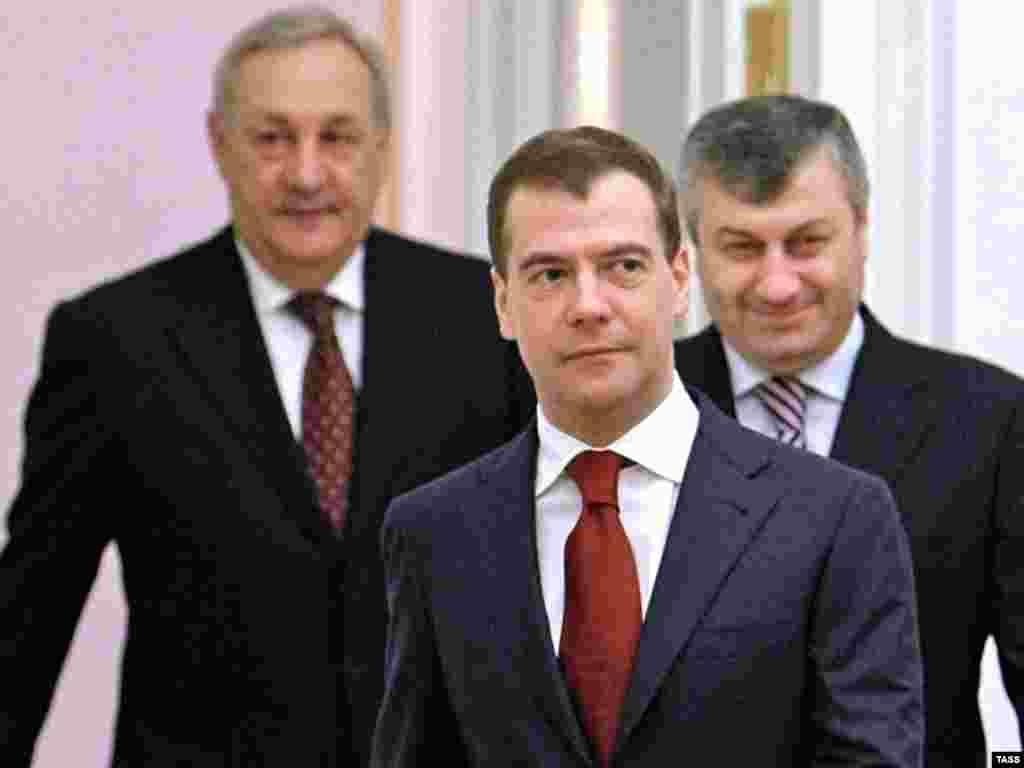 Россия подписала двусторонние соглашения с Абхазией и Южной Осетией о совместных усилиях в охране государственных границ
