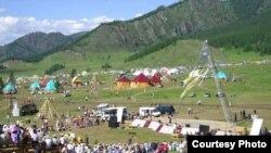 """Алтайдағы """"Ел ойыны"""" ұлттық мерекесі. 8 маусым 2008 жыл."""