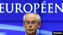 Глава Европейского Совета ван Ромпей