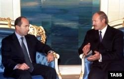 2000 год. Робэрт Качар'ян і Аляксандар Лукашэнка