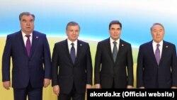 Руководители стран Центральной Азии