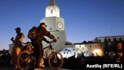 Казанда төнге велосәфәр