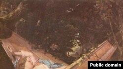 Сиеста. Картина Густава Курбе. Франция. 1844.