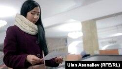 Кыргызстандык шайлоочу