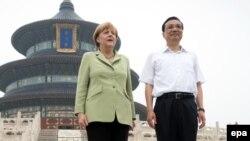 Германската канцеларка Ангела Меркел и кинескиот премиер Ли Кекианг